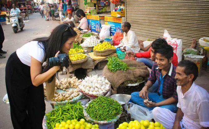 delhi food and photo walks
